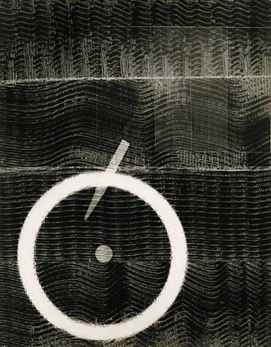 Josef Breitenbach- Untitled photogram, 1948 © The Josef Breitenbach Trust