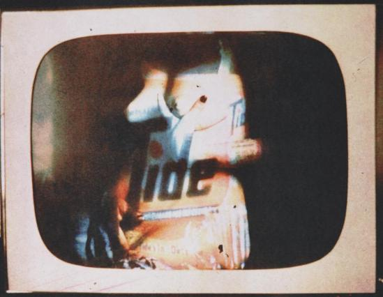 Robert Heinecken - Daytime Color TV Fantasy #13A, 1974-1975, 3M color print© Robert Heinecken Archive