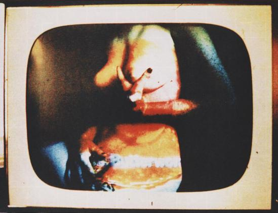 Robert Heinecken - Daytime Color TV Fantasy #16B , 1974-1975, 3M color print© Robert Heinecken Archive