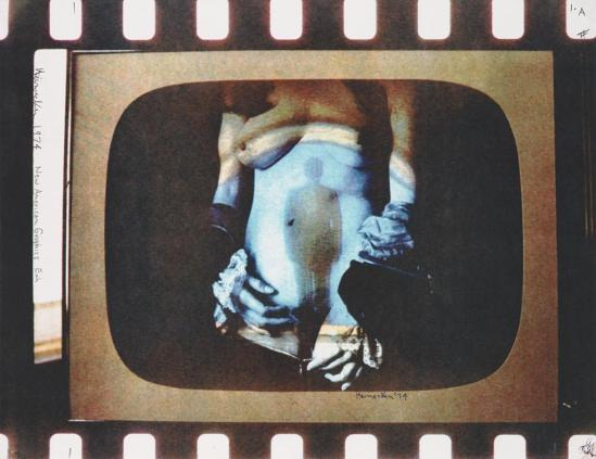 Robert Heinecken - Daytime Color TV Fantasy #1B, 1974-1975, 3M color print© Robert Heinecken Archive