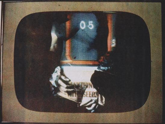 Robert Heinecken - Daytime Color TV Fantasy #28A 1974-1975, 3M color print© Robert Heinecken Archive