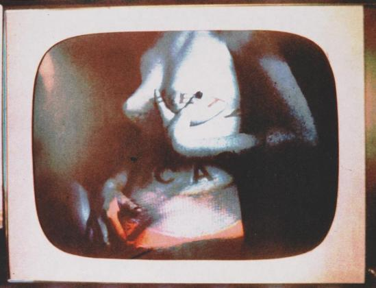 Robert Heinecken - Daytime Color TV Fantasy #3C, 1974-1975, 3M color print© Robert Heinecken Archive