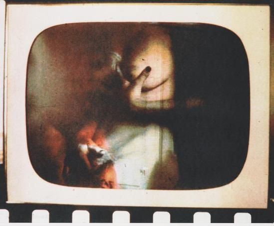 Robert Heinecken - Daytime Color TV Fantasy #8C, 1974-1975, 3M color print© Robert Heinecken Archive