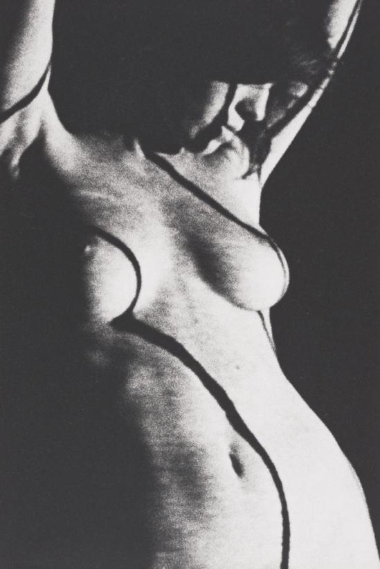 Robert Heinecken -Doublés Figure, 1965, Tirage argentique © Robert Heinecken Archives