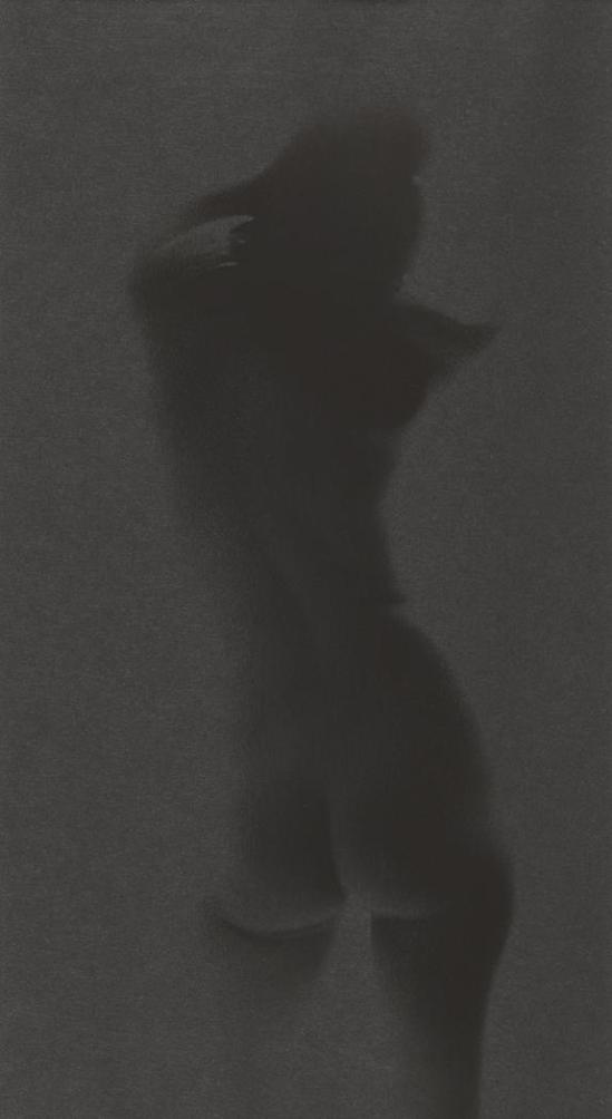 Robert Heinecken -Obscured Figure # 1,1966, la transparence du film © Robert Heinecken Archives