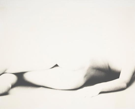 Robert Heinecken - Ombre de la figure n ° 1, 1962, Tirage argentique © Robert Heinecken Archives