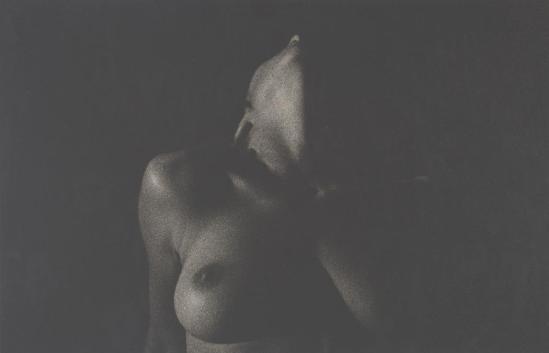 Robert Heinecken - épaule, le cou, la poitrine et le bras, 1966 gelatin silver print © Robert Heinecken Archives