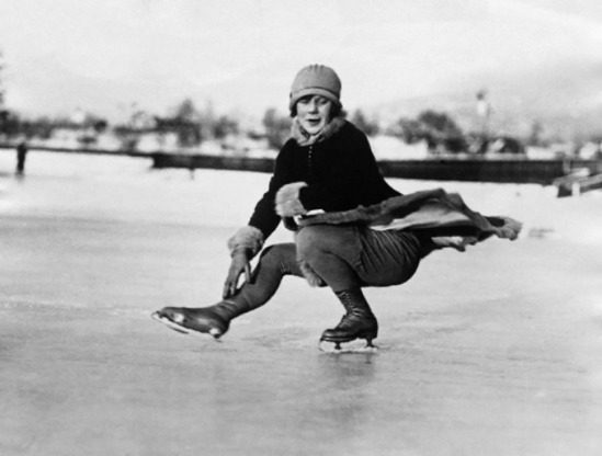 Underwood & Underwood- Miss Sonja Henie (Olympic Games champion)1928 © Underwood & Underwood-Corbis