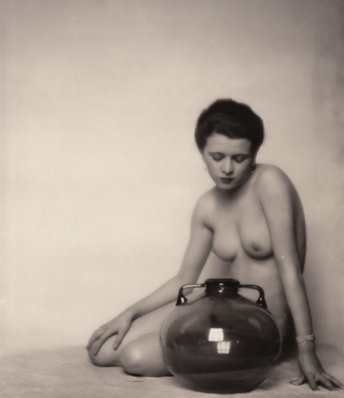 Mario von Bucovich- Nude, 1920
