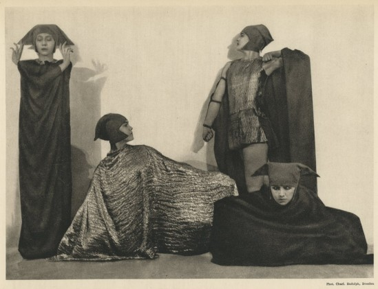 Charlotte  Rudolph-Mary Wigman students, Dresden 1920s