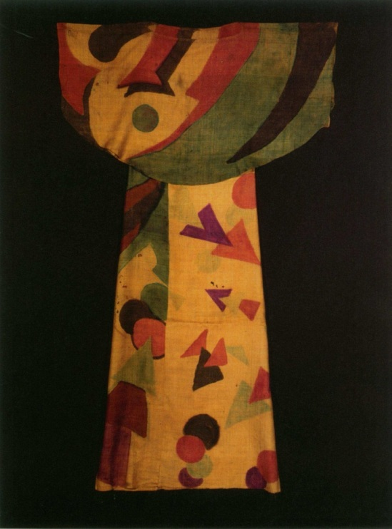 Akarova costume for Gymnopédie N°1, 1925-1932, fabric by ML.baugniet( archives Bruxelles)