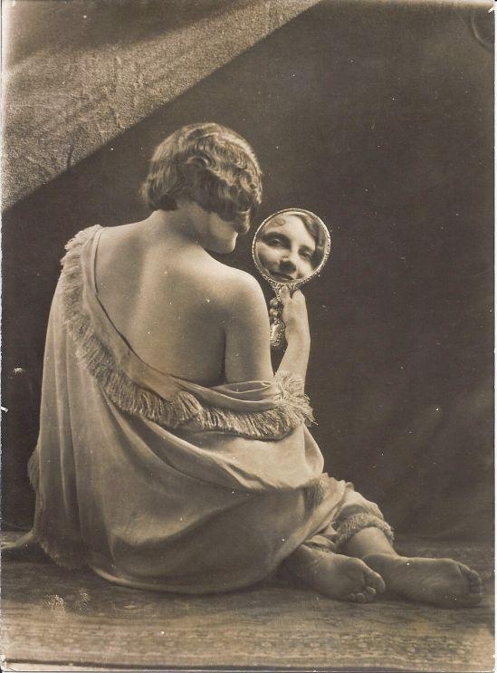 Bernard Leedham (British) -Vintage nude study -Gelatine silver print, 1929