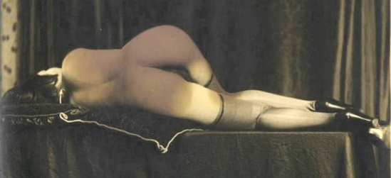 Grundworth - Nude reclining, c1920s Gelatin silver medium