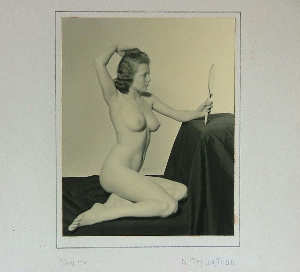 N. Taylor.Todd- Portefolio Vanity Nude photographs siver print, 1938