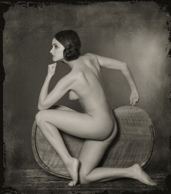 Retroatelier .Aleksey Galushkov-From the series 'Art Deco. 1920',ModelAnnabelle 2007