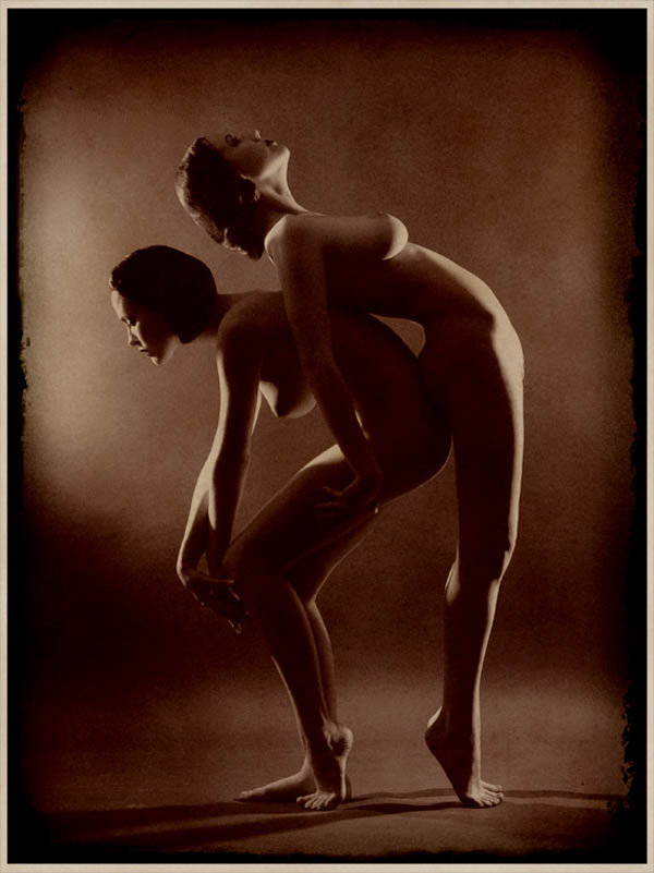 Retroatelier .Aleksey Galushkov-From the series 'Signs.' 1920,Model Dasha and Tanya 2007