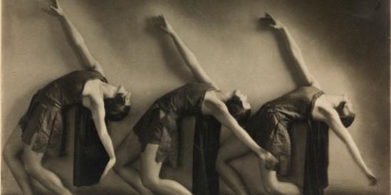 Sture Ekstrand Tre dansöser 1925