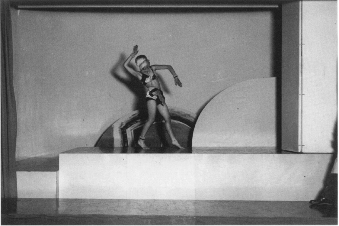Unknown photographer- Akarova in la danse d'Amour de Falia, 1929, in costume of her own design, corpyright Sabam Brussels
