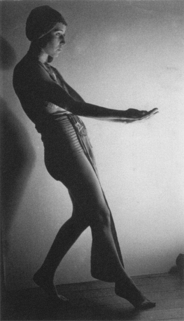 Robert de Smet - Akarova In Berceuse, 1934 , in costume of her own design , corpyright Sabam Brussels