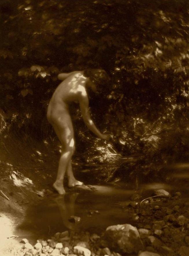 Charles J. Cook- Nude, 1920