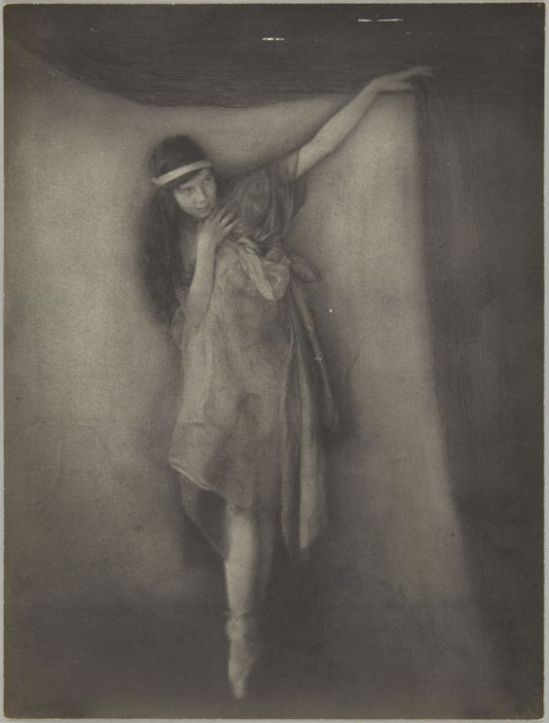 Clarence H. White- Dancers from Barnard College Greek Games ,1910s Platinum print