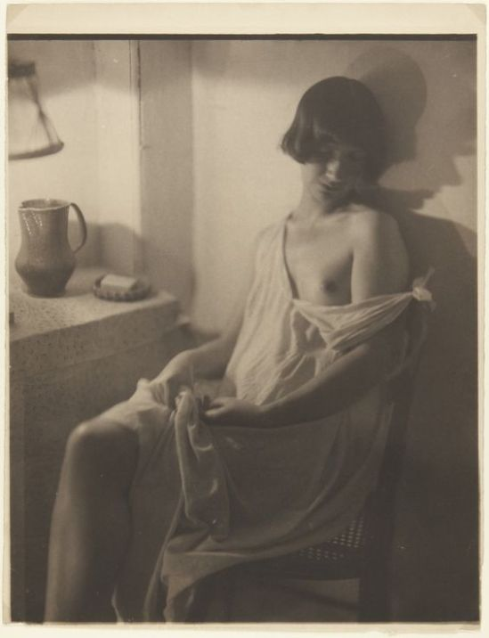 Clarence H. White- Nude posed indoors , 1920 s