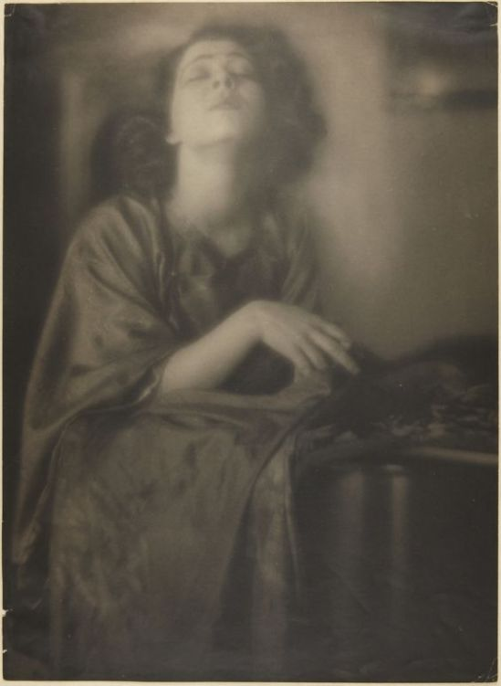 Clarence H. White- Portrait of Alla Nazimova