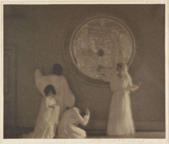 Clarence H. White- United States Larsen Dancers , ca. 1923 – 1924 Platinum print