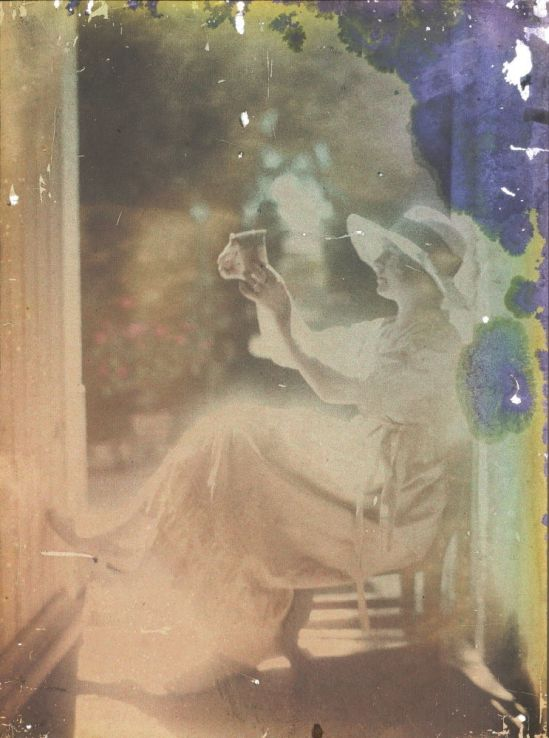 Ernest-Louis Lessieux femme au chapeau , apres 1907© Alienor.org, Le musée de l'île d'Oléron
