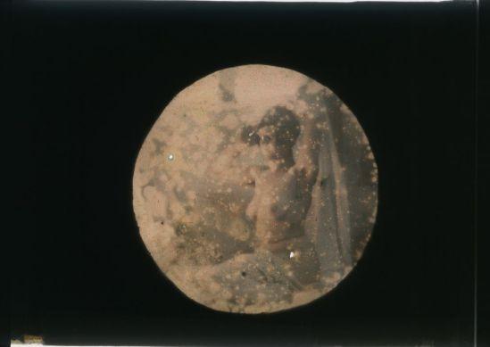 Ernest-Louis Lessieux - femme drapée posant nue, apres 1907© Alienor.org, Le musée de l'île d'Oléron