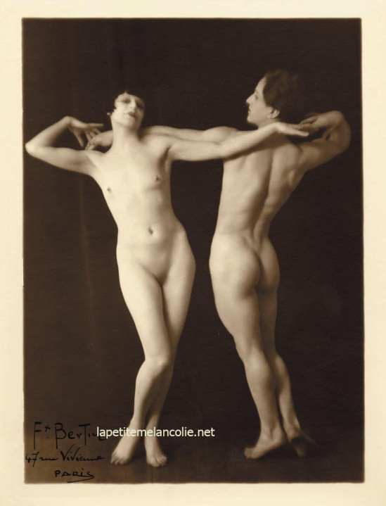 Francois Bertin- untitled, 1925 gelatine silver print From EroticPhotography by Alexandre Dupuy , 2011
