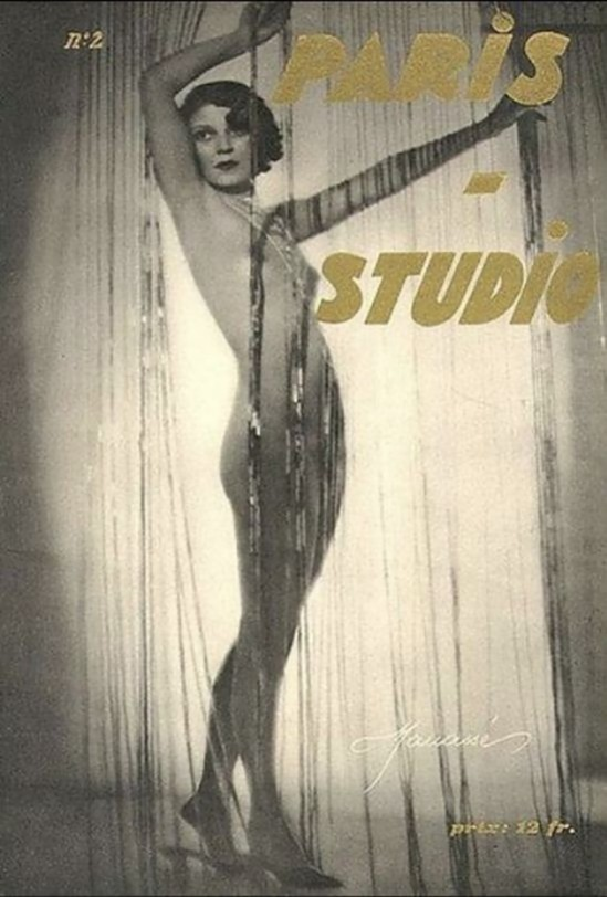 Atelier Manassé- Cover paris Studio,#2, 1930_