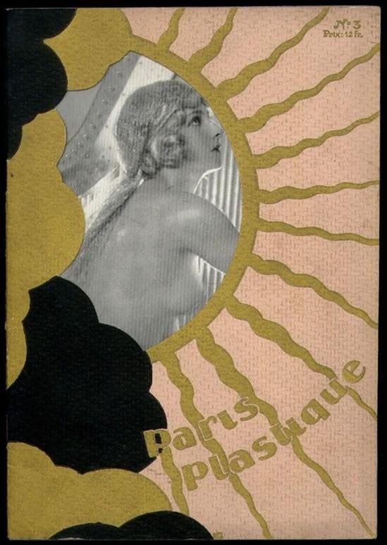 Atelier Manassé- Paris Plastique 1928 for The cover of Paris Plastique (art deco magazine)- #3, 1928