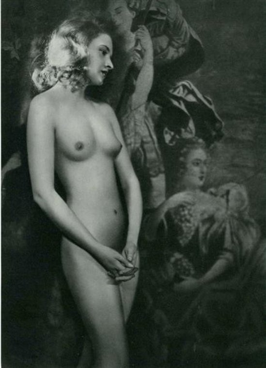 Manasse Foto-Salon- Akt #09 vintage photogravure 1930