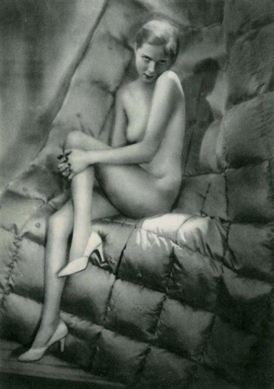 Manasse Foto-Salon- Akt #12 vintage photogravure 1930