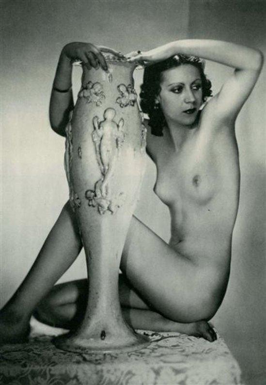 Manasse Foto-Salon- Akt #14 vintage photogravure1930