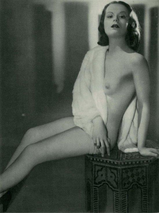Manasse Foto-Salon- Akt #15, vintage photogravure1930