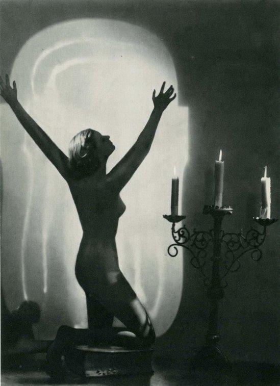 Manasse Foto-Salon- Akt #18 vintage photogravure1930