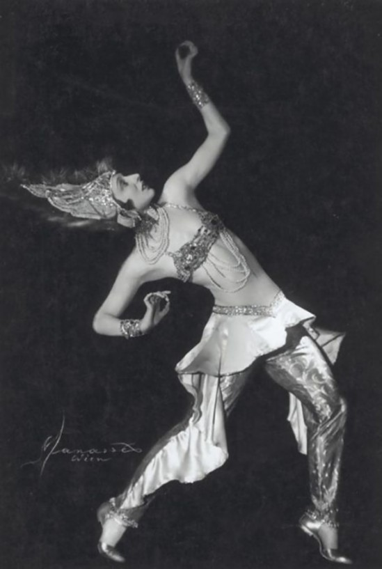 Studio Manassé – Dagmar Helsing, Tanzerin, 1930