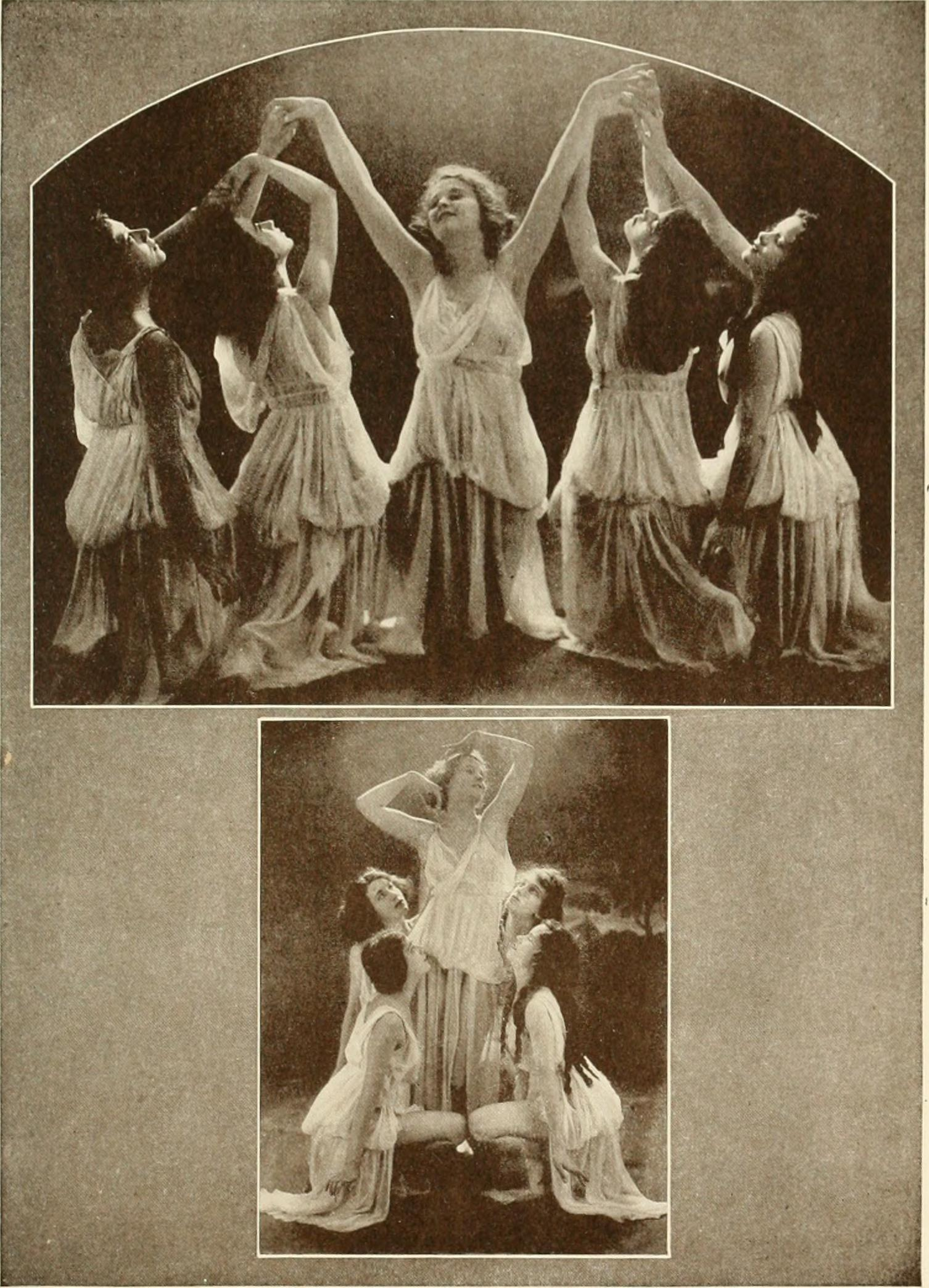 From the book Dancing with Helen Moller 1918